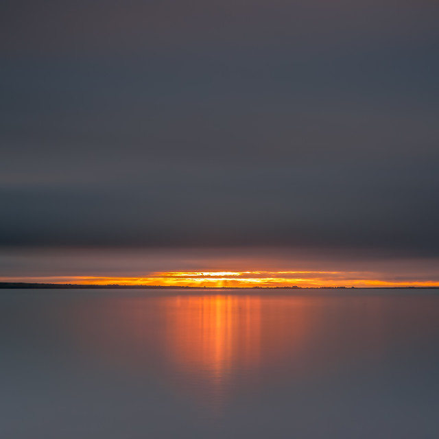 """""""Atomic Sunrise"""" stock image"""