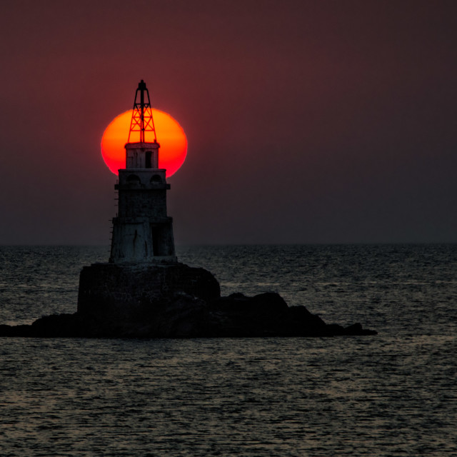 """Lighthouse near Ahtopol, Bulgaria 3"" stock image"