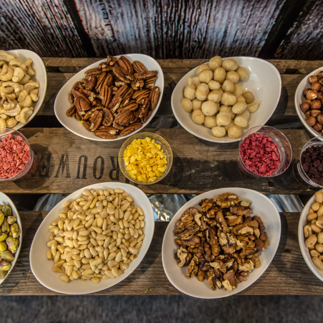 """""""Lots of nuts"""" stock image"""