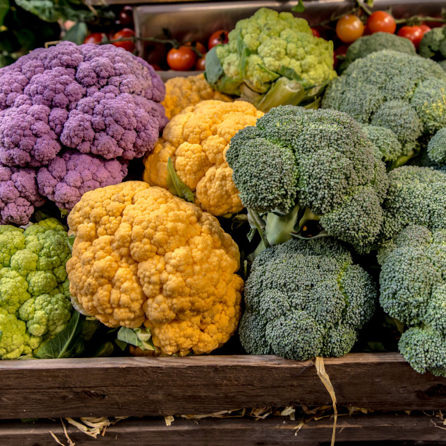 """""""Cabbage colors"""" stock image"""