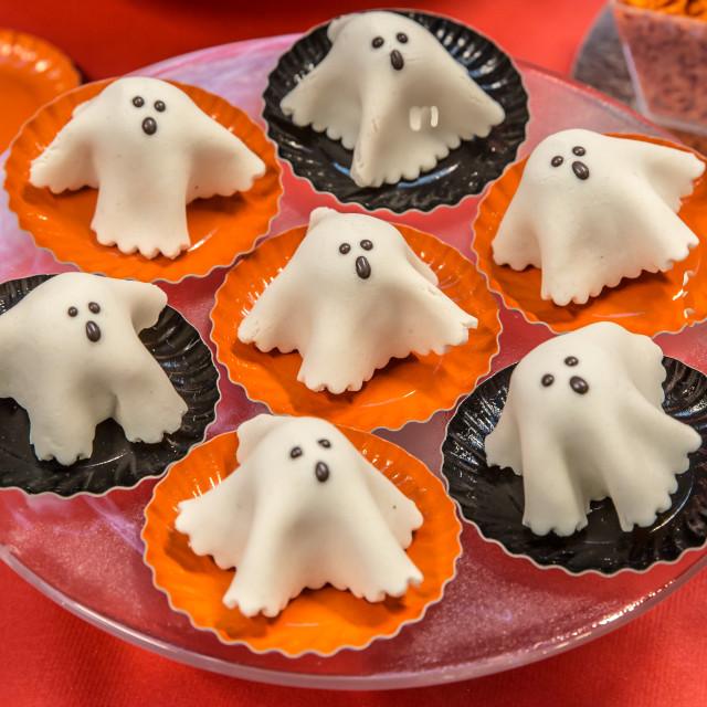 """""""Halloween cakes"""" stock image"""