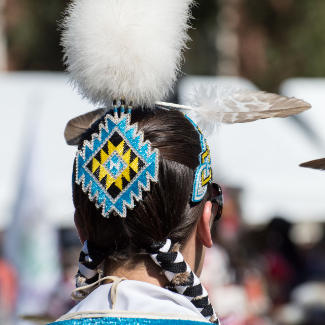 """Native American Dance Regalia"" stock image"