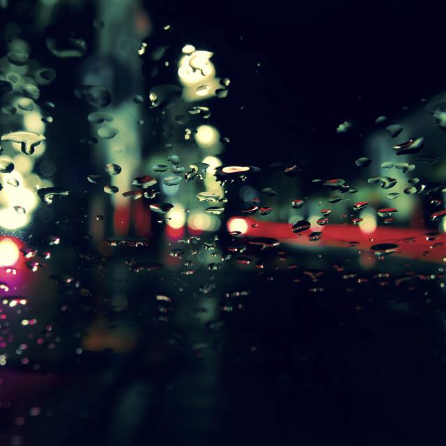 """""""luci della città"""" stock image"""