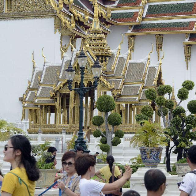 """ASIA THAILAND BANGKOK WAT PHRA KAEW"" stock image"