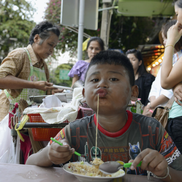 """ASIA THAILAND BANGKOK RESTAURANT THAI FOOD"" stock image"