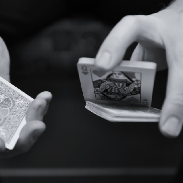 """""""Magician's Hands"""" stock image"""