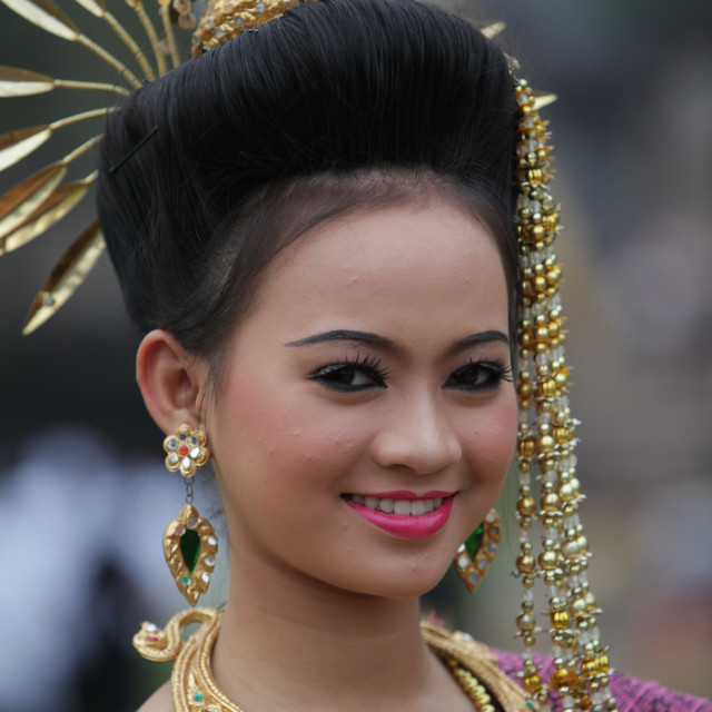 """ASIA THAILAND ISAN KHORAT PHIMAI KHMER TEMPLE"" stock image"