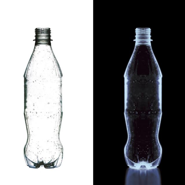 """X ray drinks bottle"" stock image"