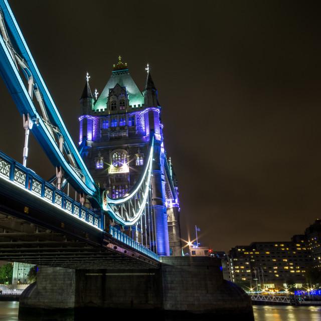 """London Nights"" stock image"
