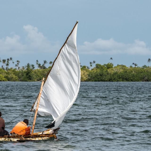 """Setting Sail"" stock image"