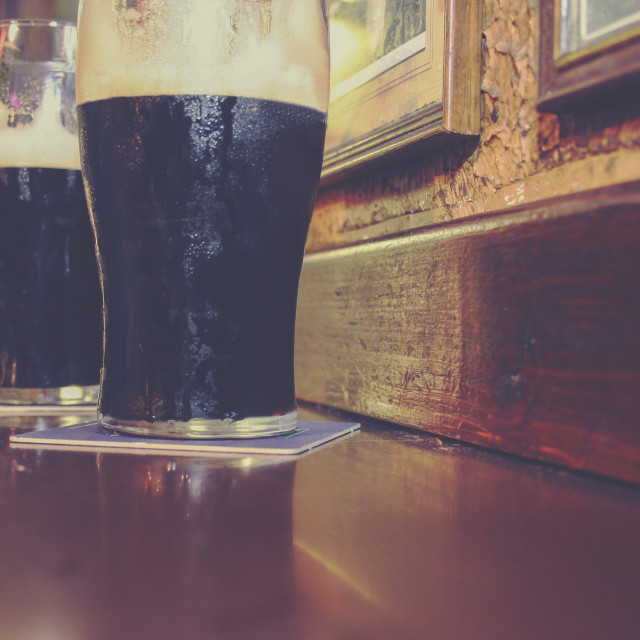 """irish stout beer"" stock image"