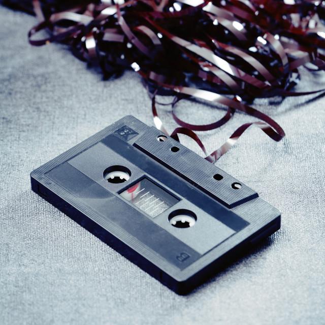 """""""Cassette"""" stock image"""