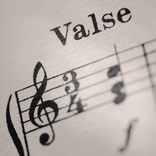 """Waltz"" stock image"