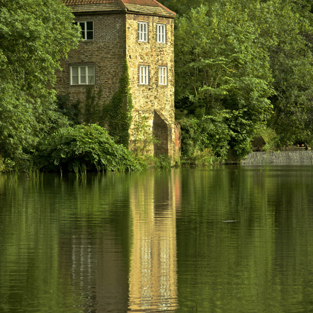"""""""Old Pump House"""" stock image"""