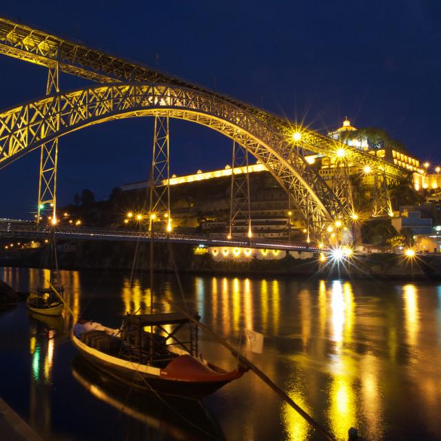 """Gloaming Porto"" stock image"