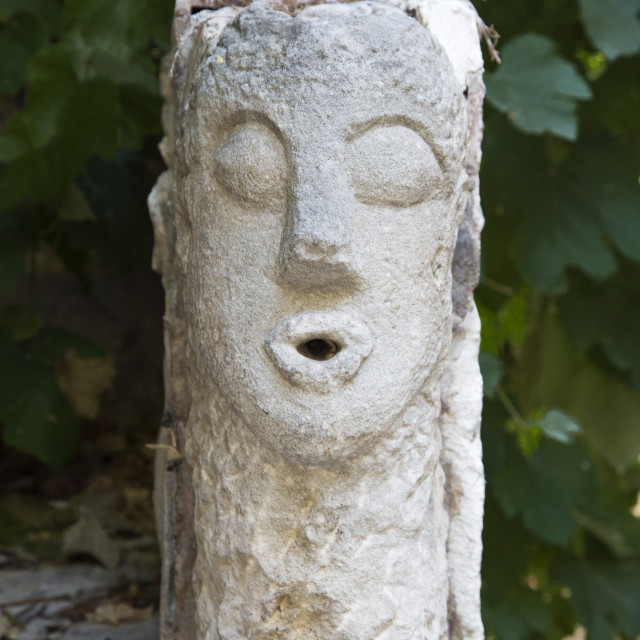 """""""Stone Head"""" stock image"""