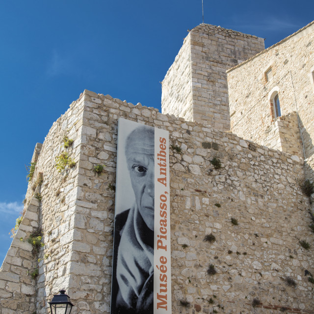 """Picasso Museum, Antibes France"" stock image"