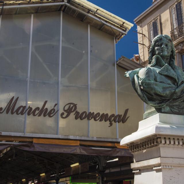 """Le Marche Provencal"" stock image"