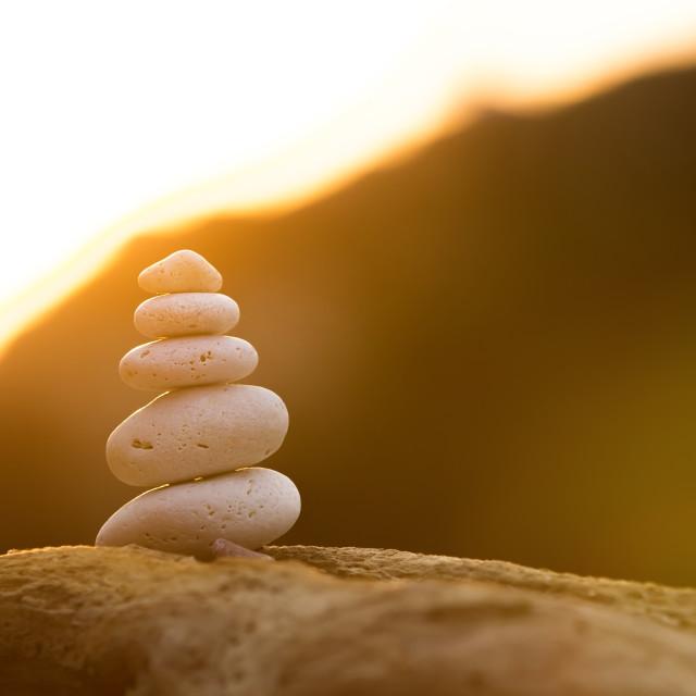 """Stones Balance"" stock image"
