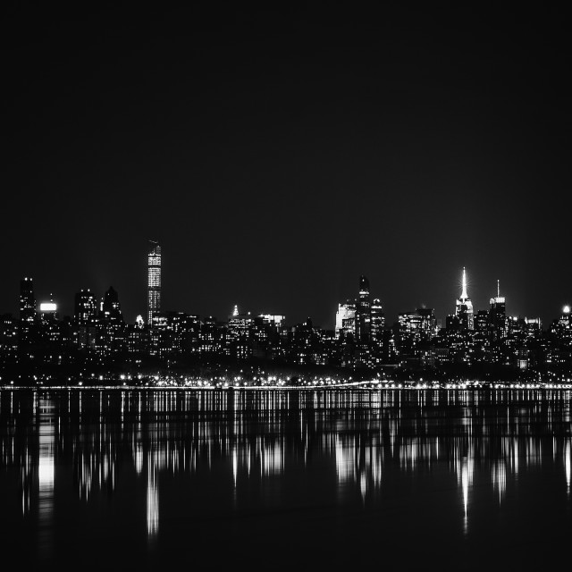 """Skyline Manhattan"" stock image"