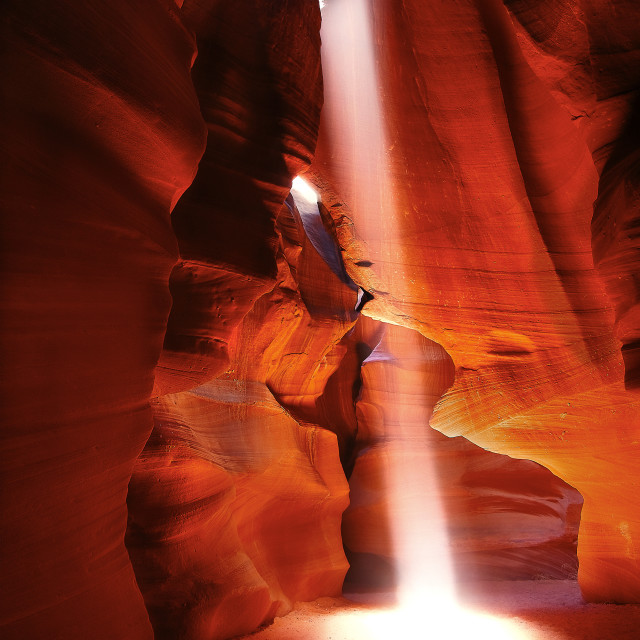 """Antelope Canyon"" stock image"