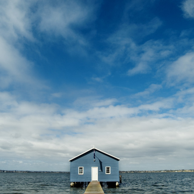"""Boat Shed"" stock image"