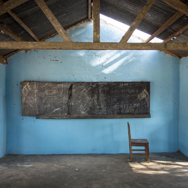 """School Classroom"" stock image"