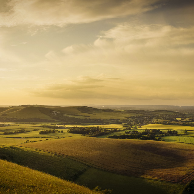 """South Downs"" stock image"