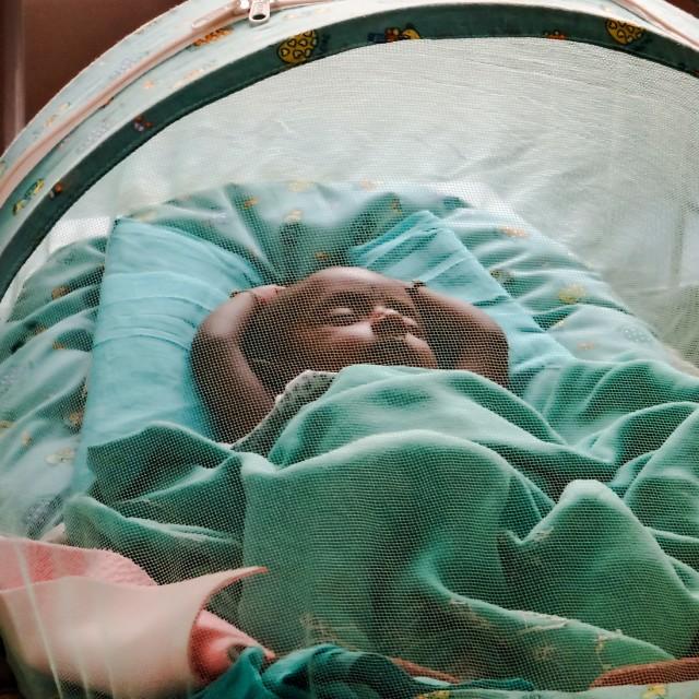 """sleep like a baby"" stock image"