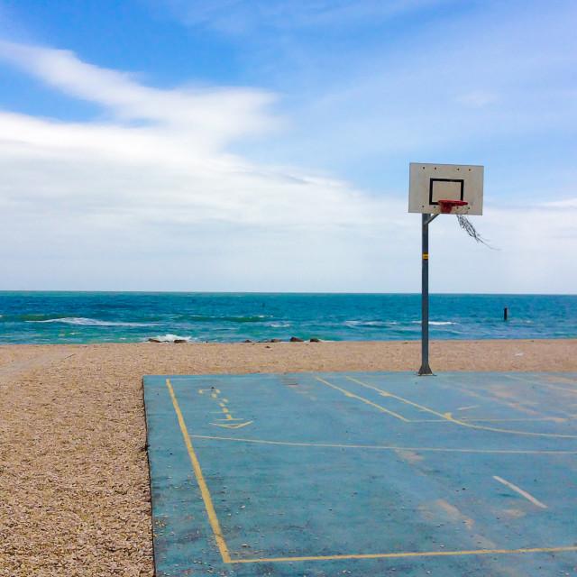 """""""Playground beach"""" stock image"""