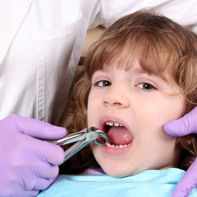 """child at the dentist"" stock image"