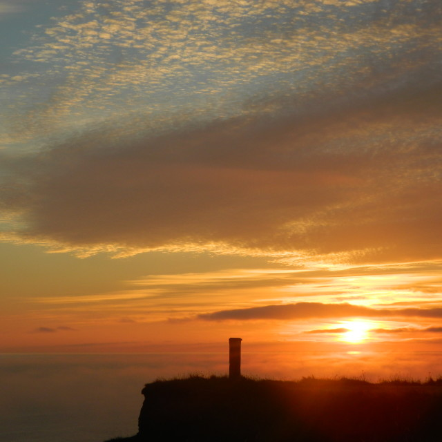 """""""Caithness Dawn"""" stock image"""