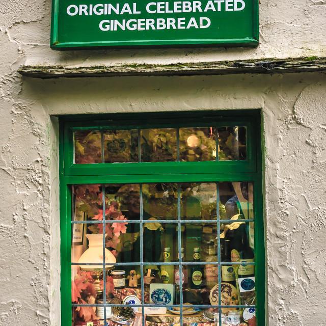 """Sarah Nelson, Original Gingerbread"" stock image"