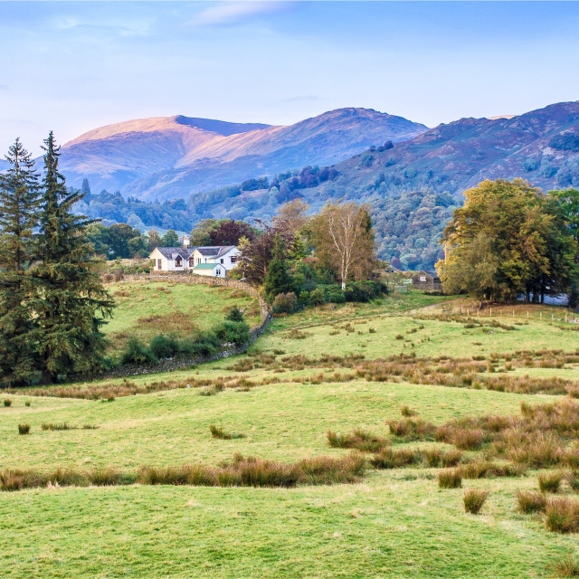 """""""Cumbrian Countryside"""" stock image"""