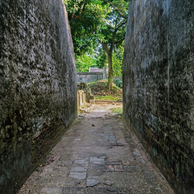 """Imperial Tomb of Emperor Tu Doc, Hue, Vietnam"" stock image"