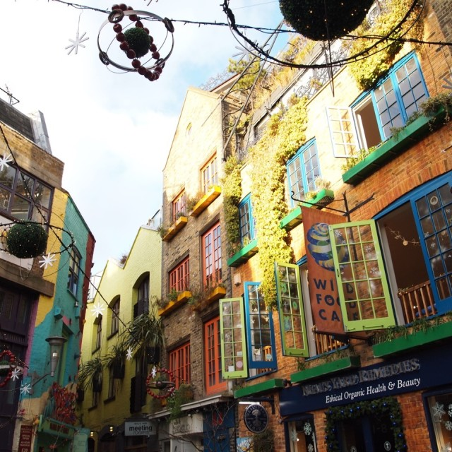 """Neals Yard"" stock image"