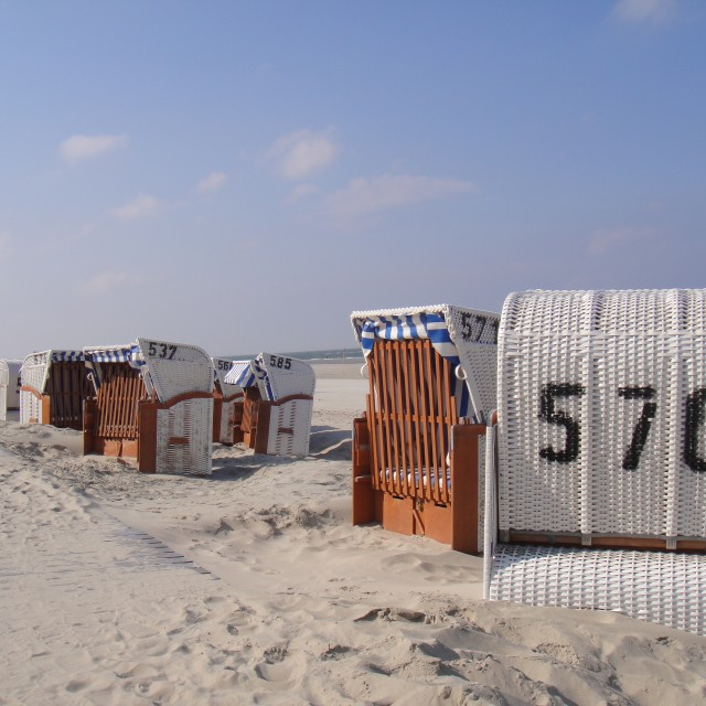 """Spiekeroog Beach"" stock image"