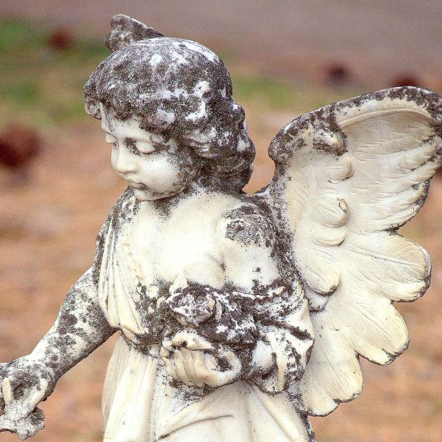 """Stone Angel"" stock image"