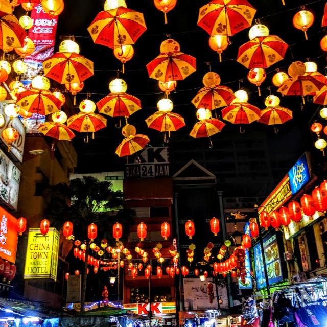 """""""Chinatown, Kualalumpur, Malaysia."""" stock image"""