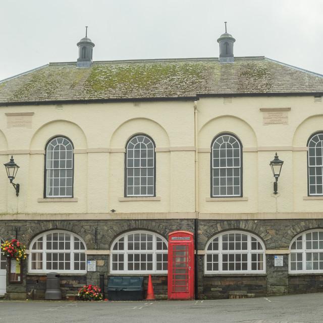 """Building in Hawkshead Village"" stock image"