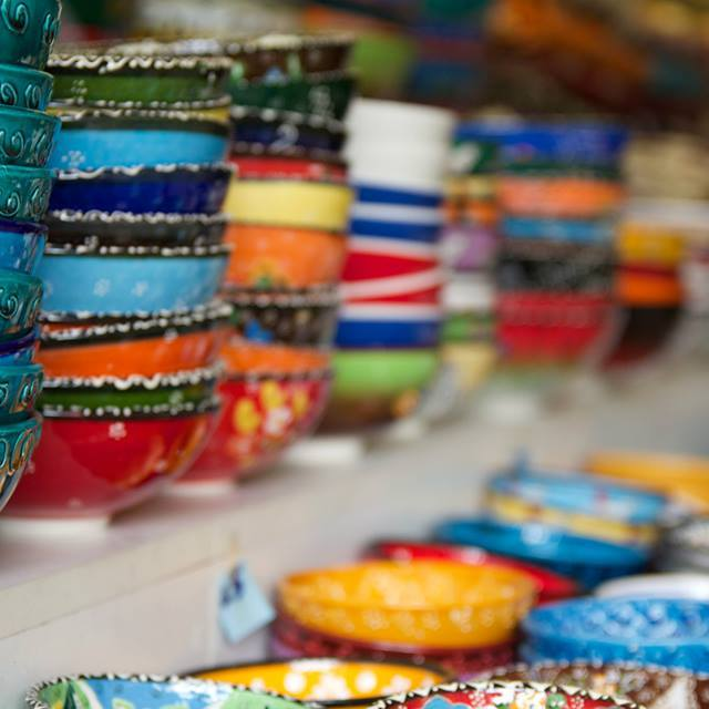 """Turkish Ceramic Art"" stock image"