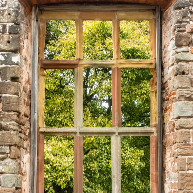 """""""Autumn Window"""" stock image"""