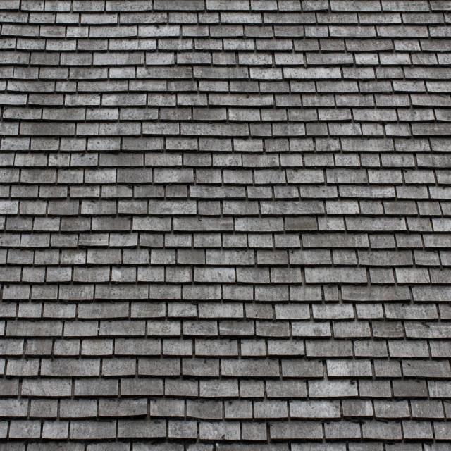 """Slate Roof Background"" stock image"