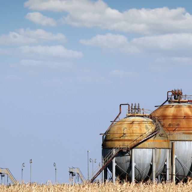 """""""industry tank for gas and liquid"""" stock image"""