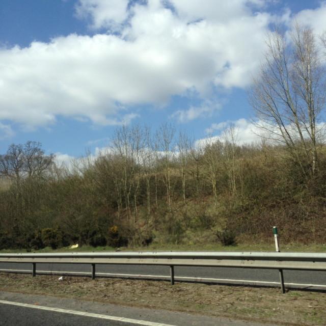 """British Motorway"" stock image"