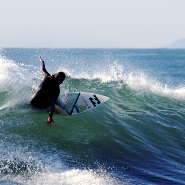 """Surf Art #1"" stock image"