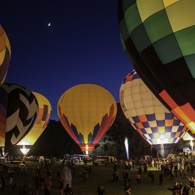 """Balloon Glow"" stock image"