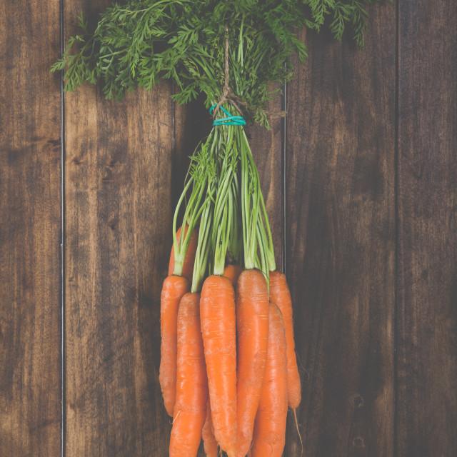 """Delicious fresh carrots"" stock image"