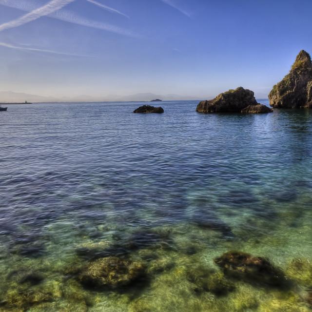 """Vietri sul Mare (SA), amalfi coast, Italy : marina"" stock image"