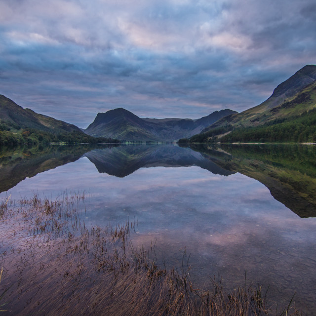 """Buttermere Dawn"" stock image"